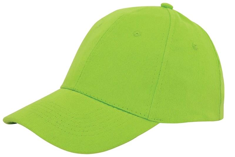 Brushed Twill Cap Groen acc. Groen