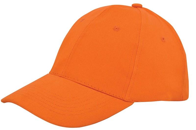 Brushed Twill Cap Oranje acc. Oranje