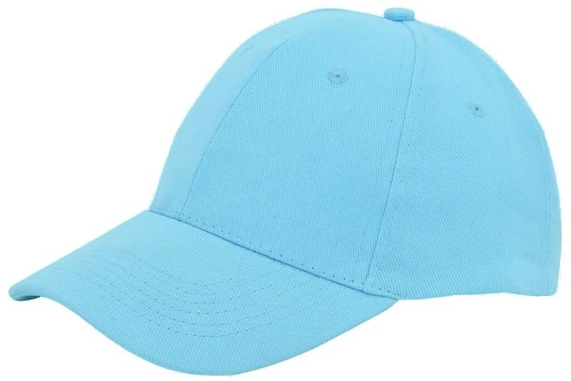Brushed Twill Cap Lichtblauw acc. Lichtblauw