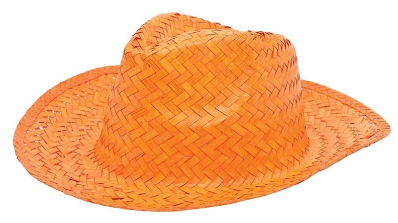 Promo Strohoed Oranje acc. Oranje