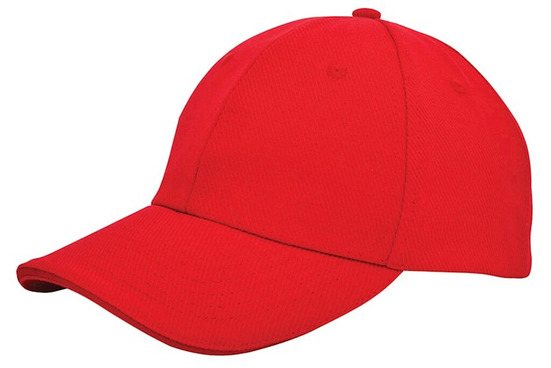 Canvas Sandwich Cap Rood acc. Rood