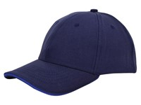 Canvas Sandwich Cap Navy acc. Royaal
