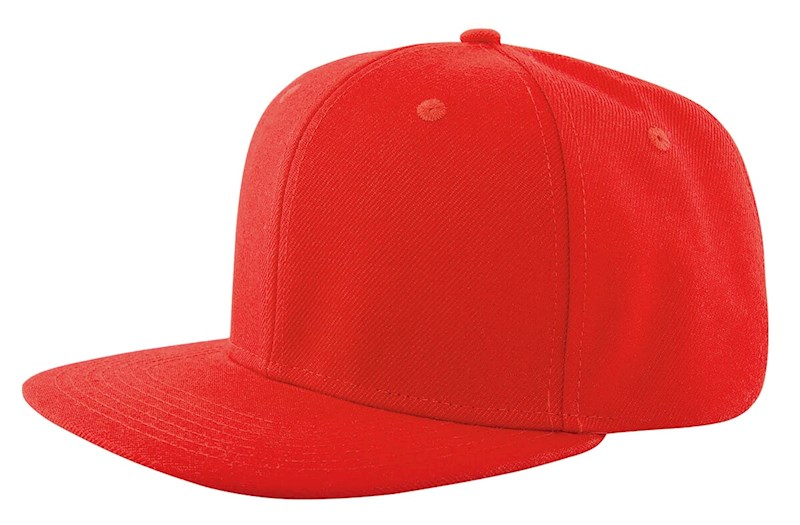 High Profile Cap Rood