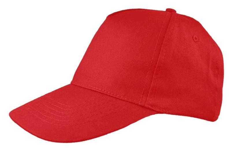 Honkbal Cap precurved Rood
