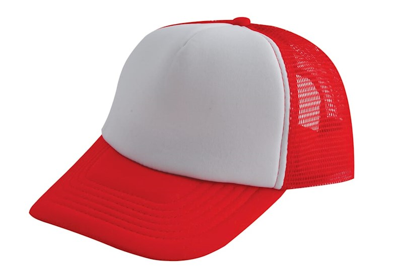 Original Trucker Cap Rood acc. Wit