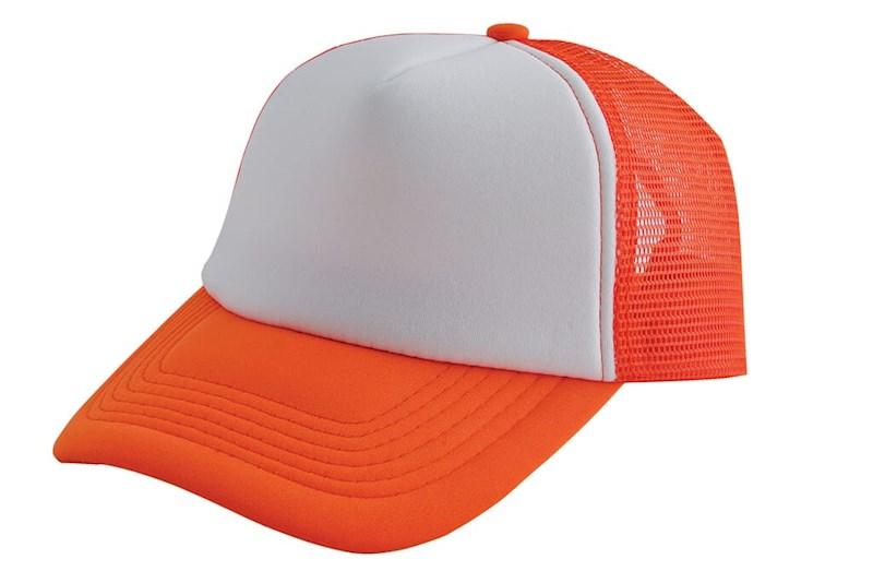 Original Trucker Cap Oranje acc. Wit