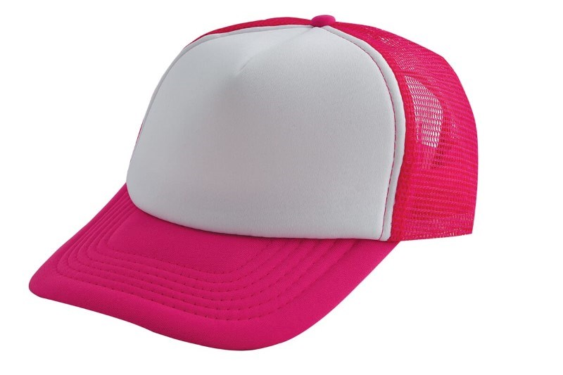 Original Trucker Cap Roze acc. Wit
