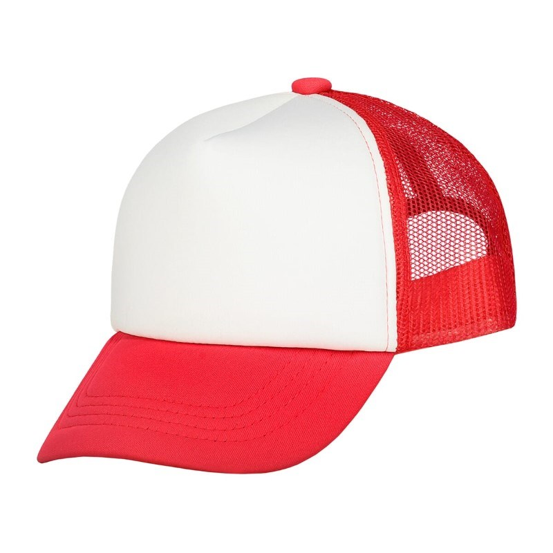 Original Kids Trucker Cap Rood acc. Wit