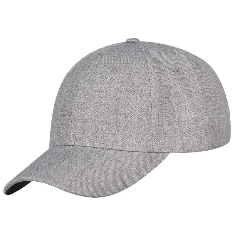 Medium Profile Cap grijs melee