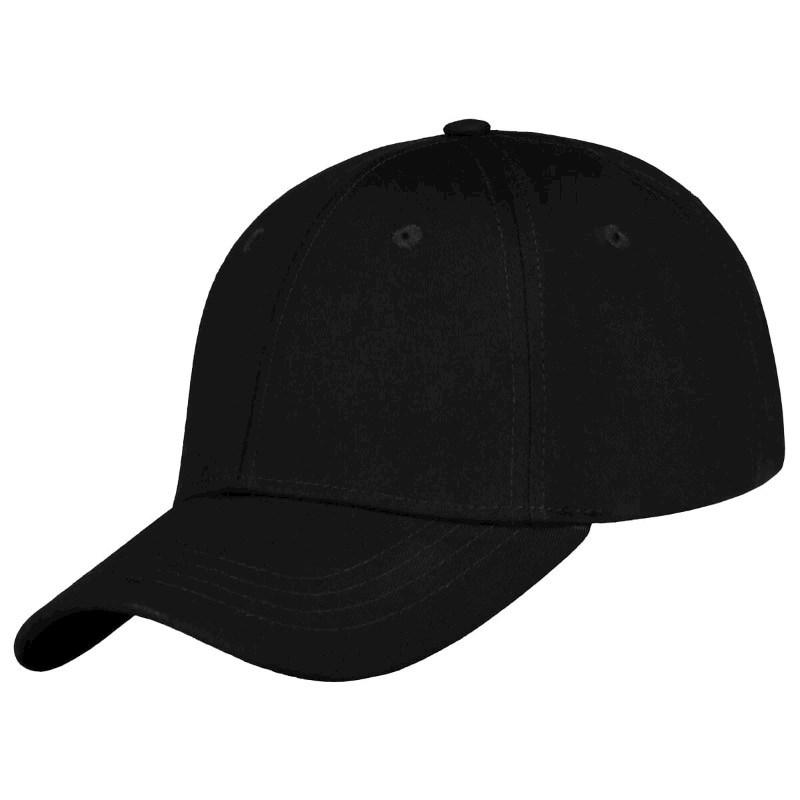 Medium Profile Cap Zwart