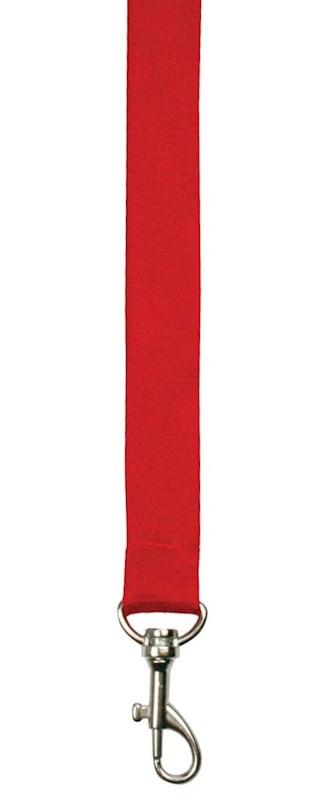 Bamboe Neklint 2cm Rood acc. Rood