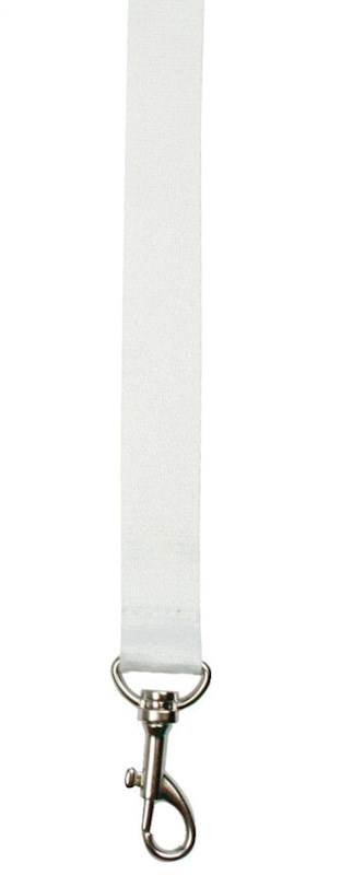 Bamboe Neklint 2cm Wit acc. Wit