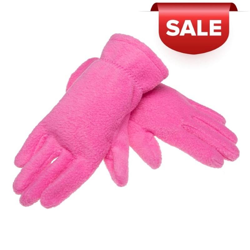 Promo Kinderhandschoenen 280 gr/m2 Roze acc. Roze