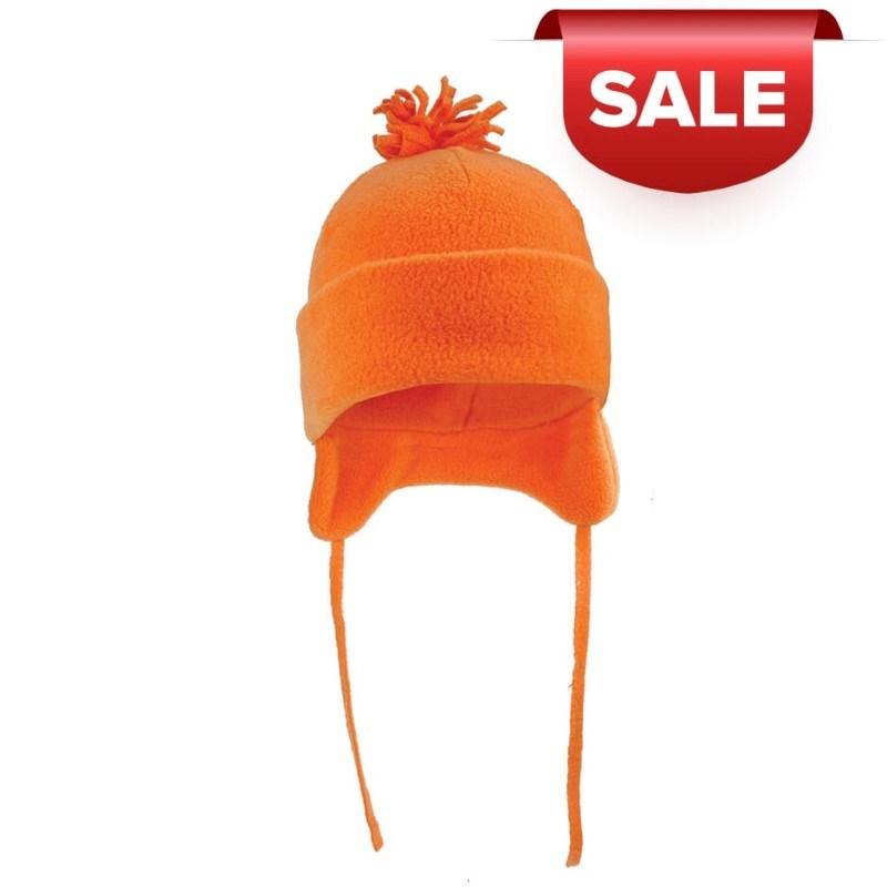 Fleece Wintermuts Met Pompoen 280 gr/m2 Oranjej ac
