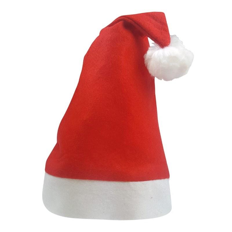 Kinder Kerstmuts Rood acc. Wit