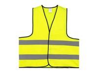 Veiligheidsvest Polyester XL Geel Bulk Verpakt