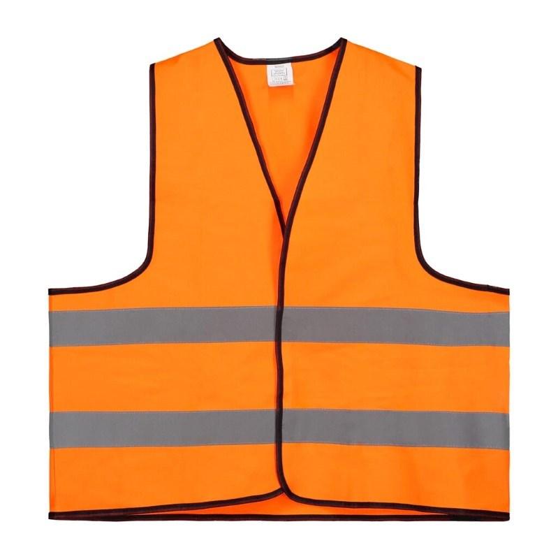 Veiligheidsvest Polyester XL Oranje Bulk Verpakt