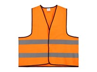 Veiligheidsvest Polyester M Oranje