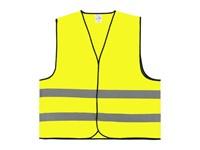 Veiligheidsvest Polyester 4XL Geel Bulk Verpakt