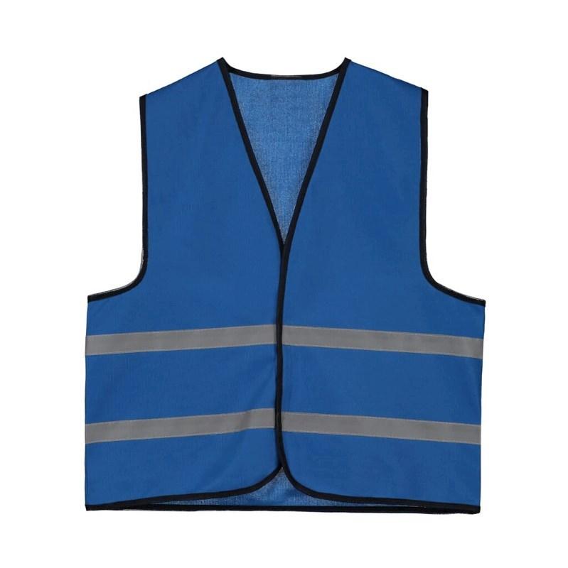 Kids Promo Vest polyester Kobalt