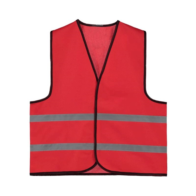Kids Promo Vest polyester Rood