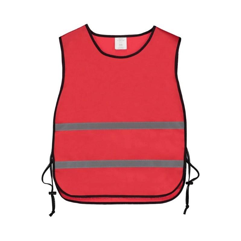 Trainingsvest polyester Rood