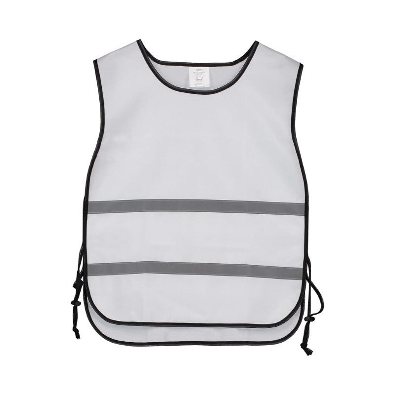 Trainingsvest polyester Wit