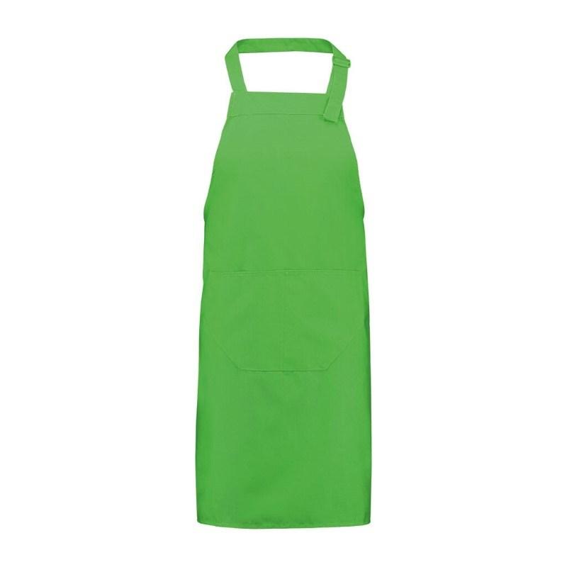 Schort 75*85cm, 240 gr/m2 Groen acc. Groen