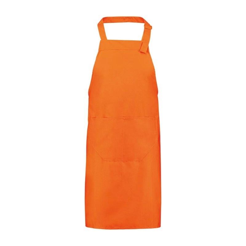 Schort 75*85cm, 240 gr/m2 Oranje acc. Oranje