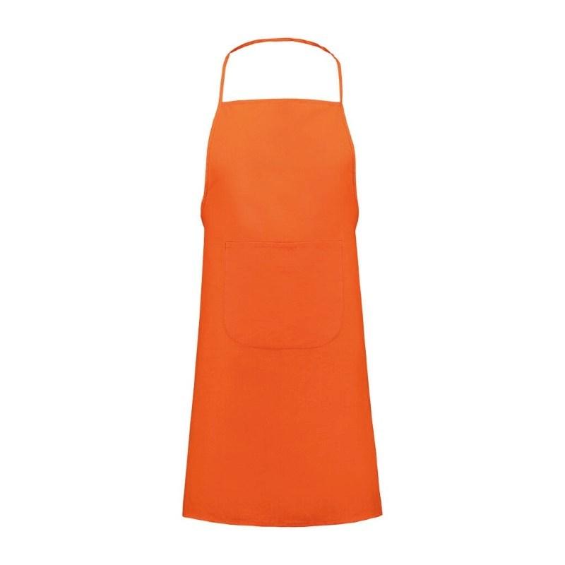 Keukenschort,90 gr/m2 Oranje acc. Oranje