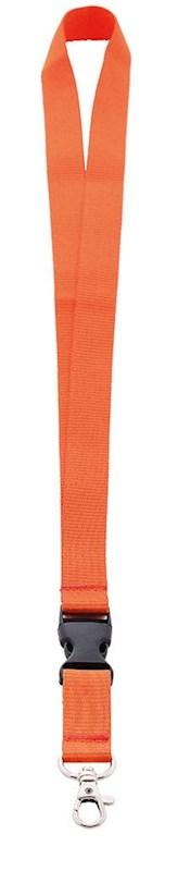 Neklint 2cm Oranje acc. Oranje