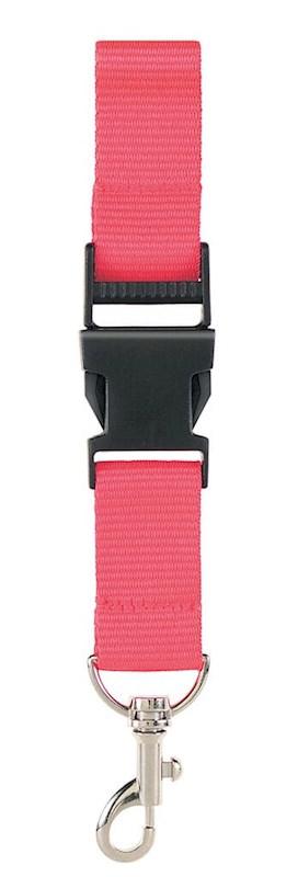Neklint 2,5 cm met veiligheidssluiting Roze acc. Roze