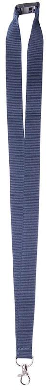 Neklint 2 cm met veiligheidssluiting Navy