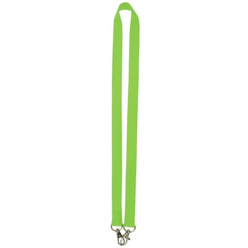 Neklint 2cm met twee haken Groen acc. Groen