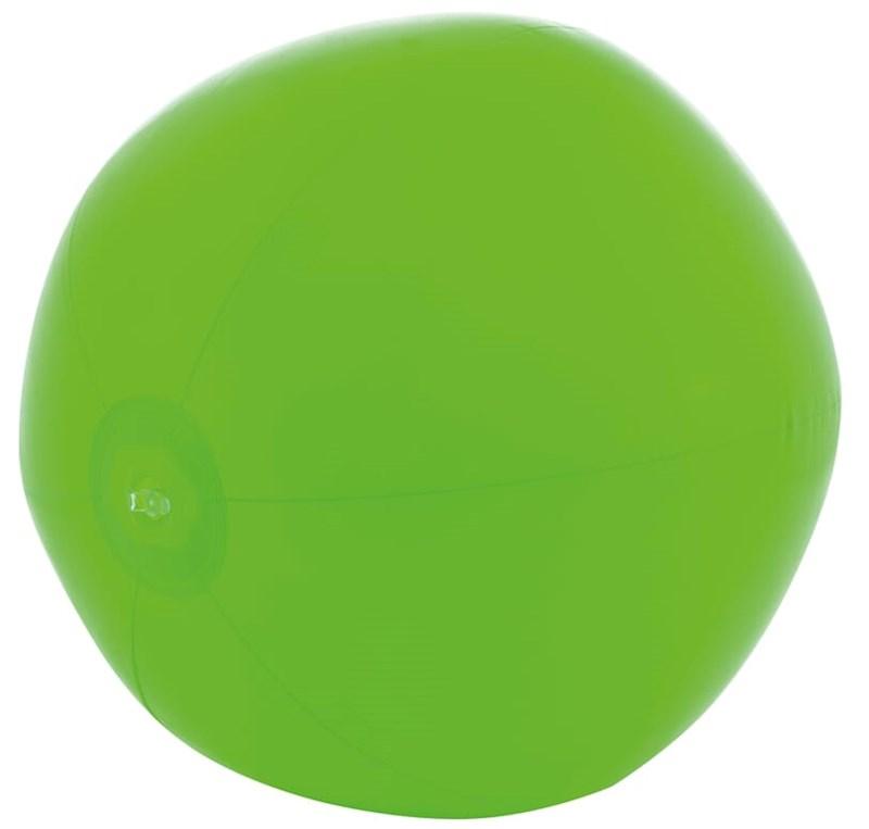 Strandbal 21inch leeg Groen