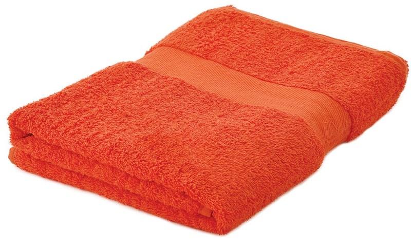 Sophie Muval Handdoek 140*70cm, 450 gr/m2 Oranje acc. Oranje