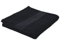 Sophie Muval Handdoek 100*50cm, 450 gr/m2 Zwart acc. Zwart