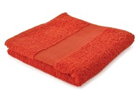 Sophie Muval Handdoek 100*50cm, 450 gr/m2 Oranje Acc. Oranje