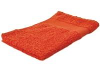 Sophie Muval Handdoek 50*30cm, 450 gr/m2 Oranje acc. Oranje