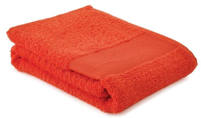 Sophie Muval Handdoek 130x30cm, 450 gr/m2 Oranje acc. Oranje