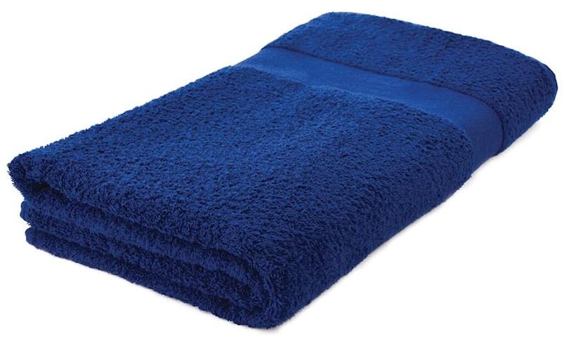 Sophie Muval Handdoek 180x100 Marineblauw acc. Marineblauw