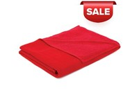 Sophie Muval Double Face 180*100cm, 400 gr/m Rood acc. Rood