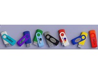 USB stick Twister 2.0 in alle PMS kleuren 64Gb