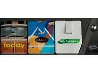 USB stick Credit Card 2.0 wit 2GB