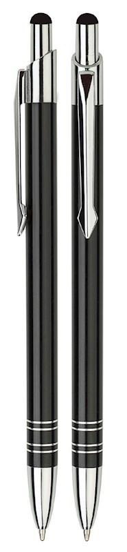 Aluminium Touch pen Stylus zwart