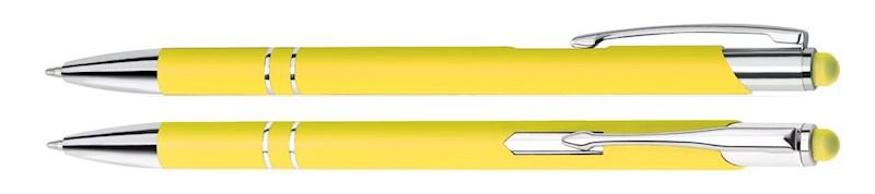 Aluminium Touch pen Stylus geel