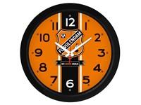 Wandklok kunststof met logo 33cm