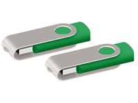 USB stick Twister 3.0 groen 32Gb