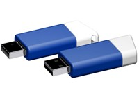 USB stick Flow 2.0 wit-blauw 512MB