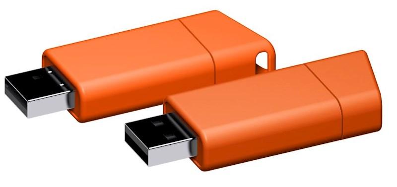 USB stick Flow 2.0 oranje 8GB